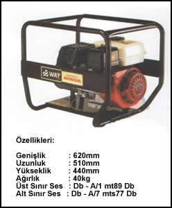 (Turkish) 2.5 KVA Monofaze