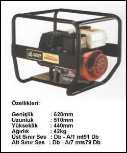 (Turkish) 3.5 KVA Monofaze