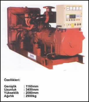 (Turkish) 300 KVA Prime
