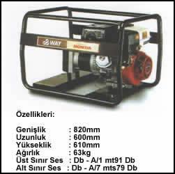 (Turkish) 4.5 KVA Monofaze