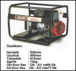 (Turkish) 5.5 KVA Monofaze