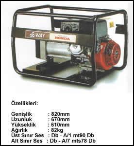 (Turkish) 7.5 KVA Monofaze
