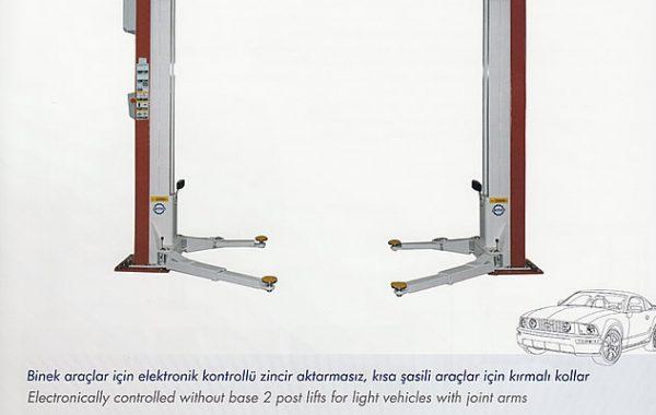 (Turkish) Elektro Mekanik İki Sütunlu Yüzey Lifti