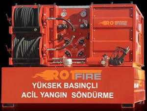 (Turkish) Yüksek Basınçlı Yangın Söndürme